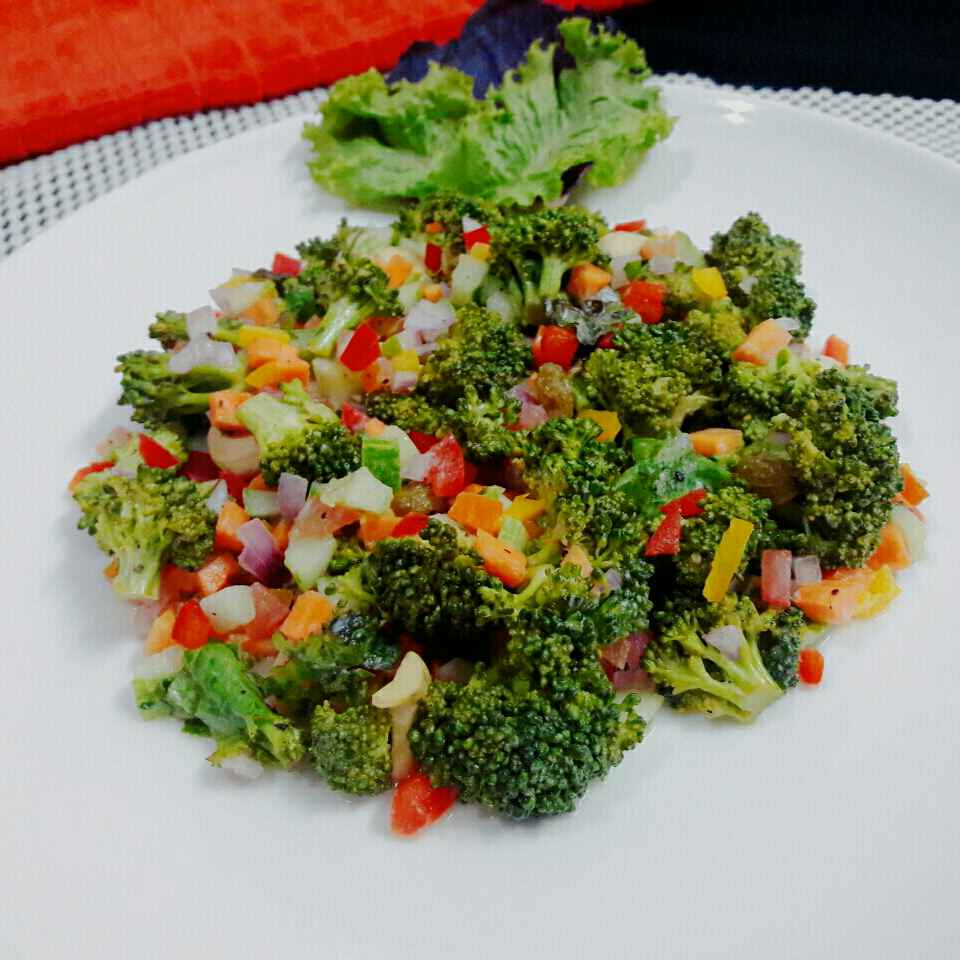 Photo of Crunchy Broccoli Salad by Prabhleen Kaur at BetterButter