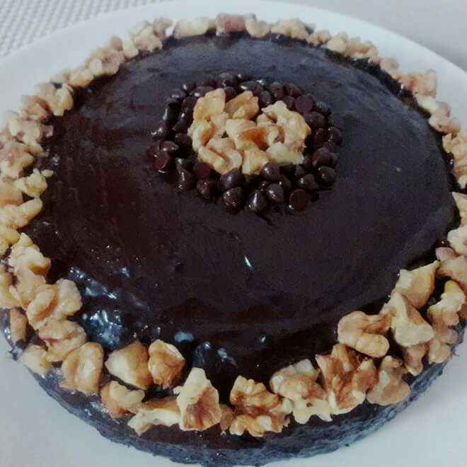 How to make Chocolate Walnut Cake