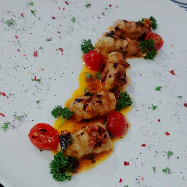 Photo of Gnocci in butter garlic chilli sauce by Prabhleen Kaur at BetterButter