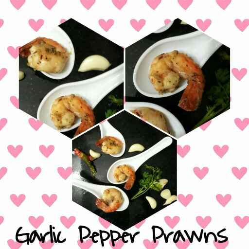 How to make Garlic Pepper Prawns