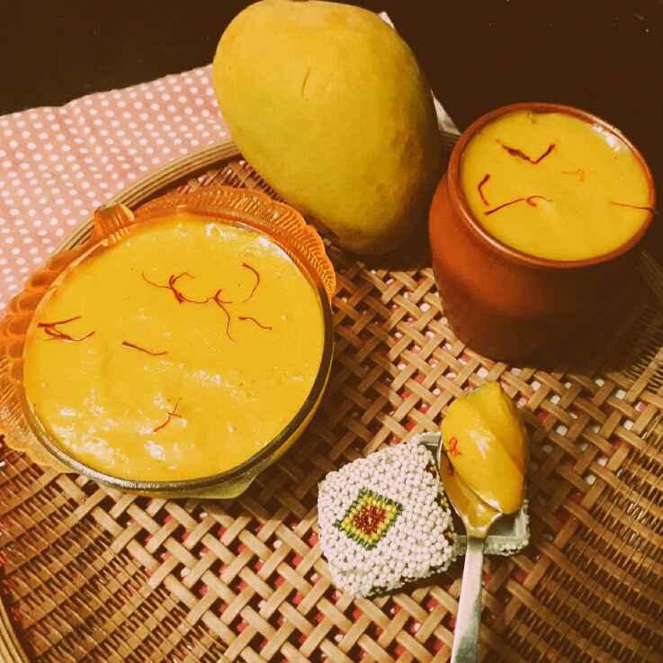 Photo of Mango Doi/ Mango Yogurt by Prachi Gaddam at BetterButter