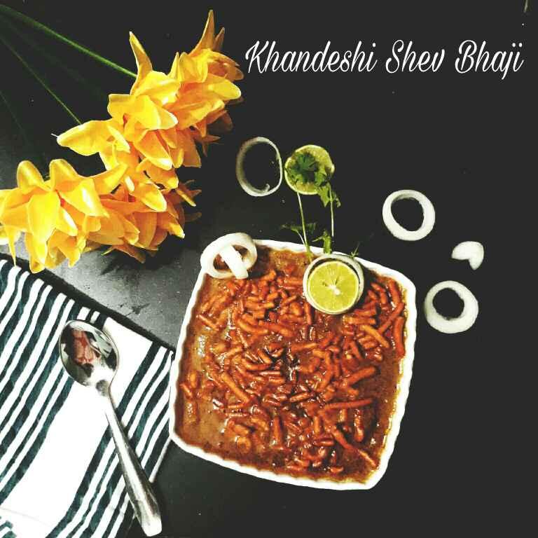 How to make Khandeshi Shev Bhaji