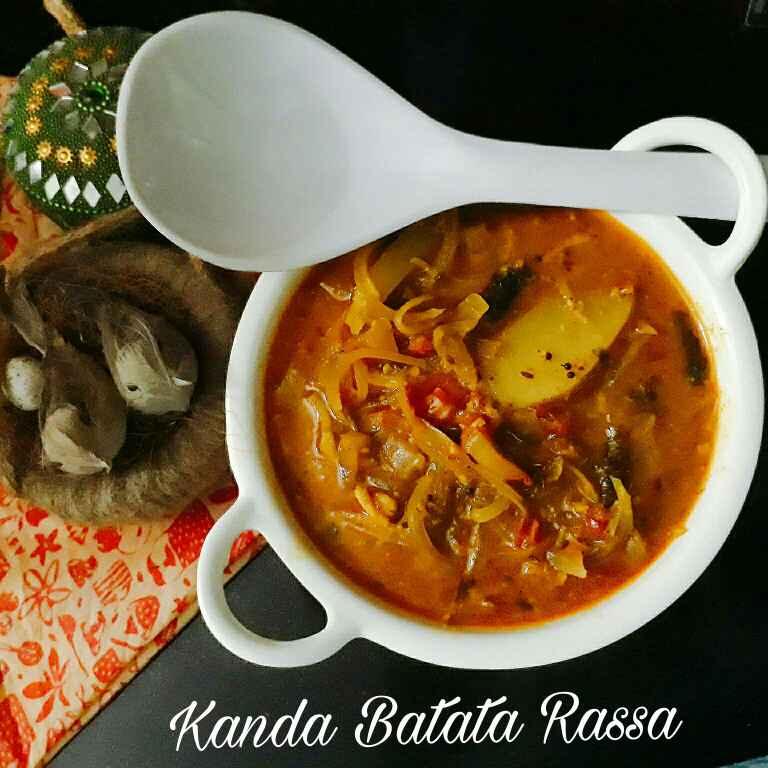 How to make Kanda Batata Rassa/ Onion and potato curry