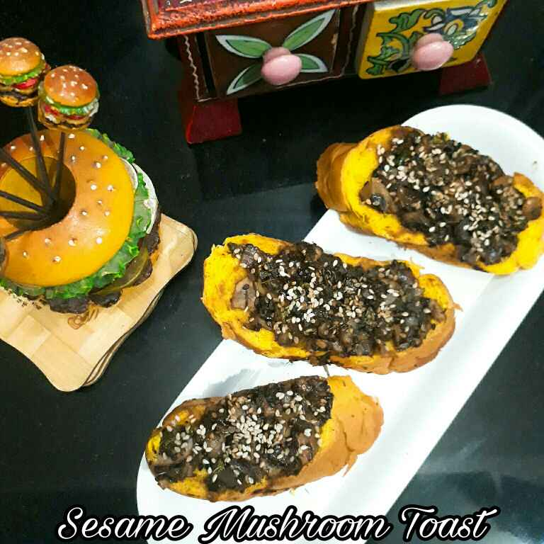 How to make Sesame Mushroom Toast