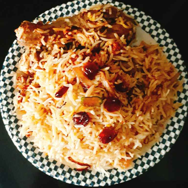 How to make Chicken Berry Pulao