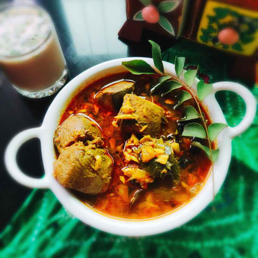 How to make Fish curry- Kerala style without coconut