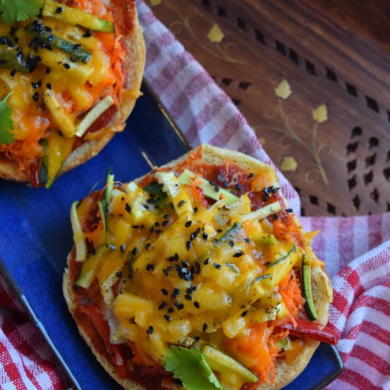 Photo of Veg Pizza Sandwich by Prachi Garg at BetterButter