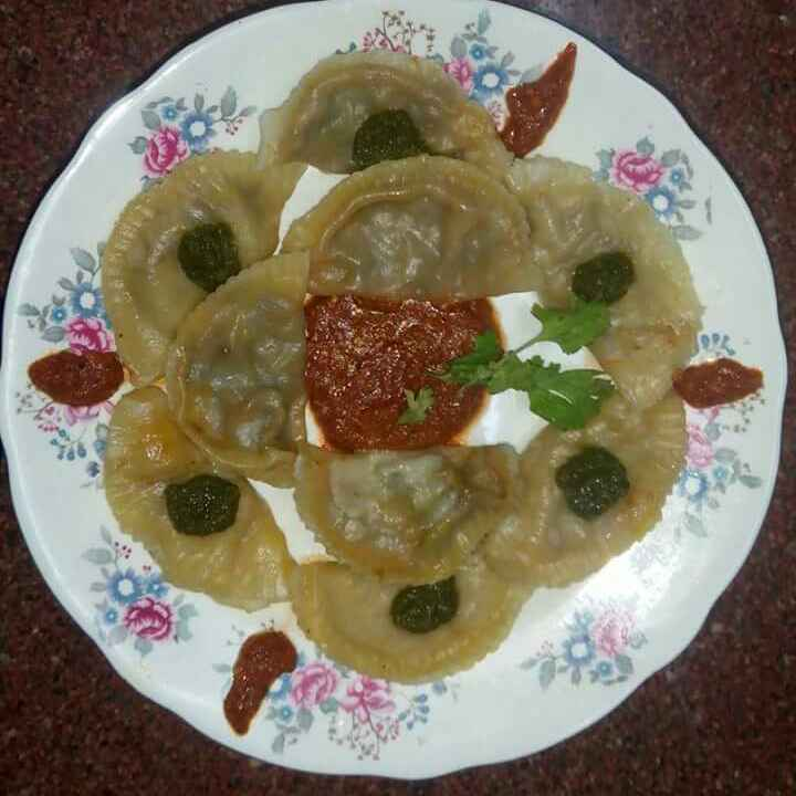 How to make Leftover mix veg momos