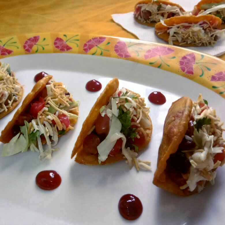 Photo of Multi grain tacos chat by Prachi Goswami at BetterButter