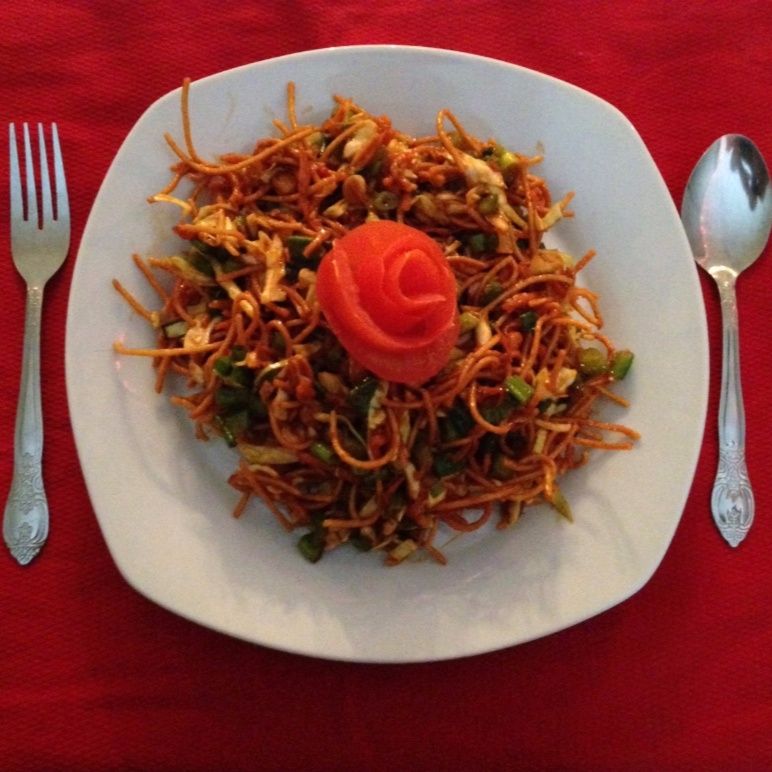 Photo of Chinese Spaghetti Bhel by Prachi Gujar at BetterButter