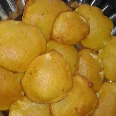 How to make Potato fitters/potato pakodas