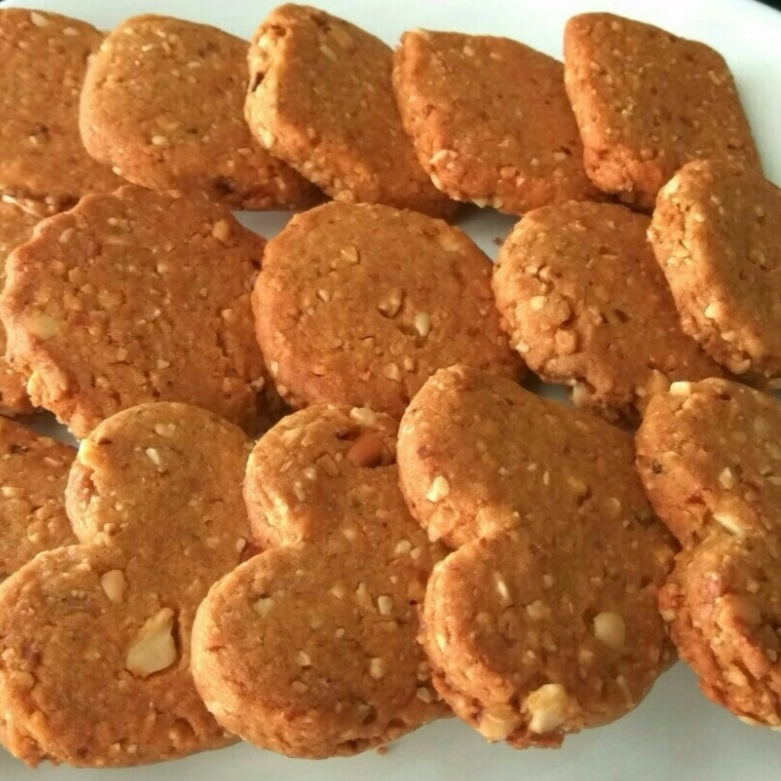 How to make Peanut whole wheat cookies