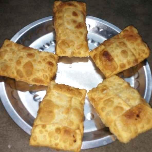 How to make Mini Veg Moglai Porota.