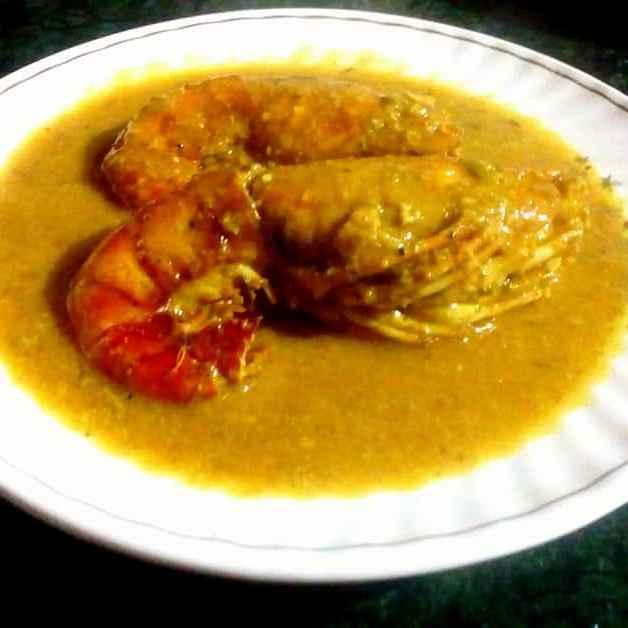 Photo of prawn malai curry by Pragya Chakraborty at BetterButter