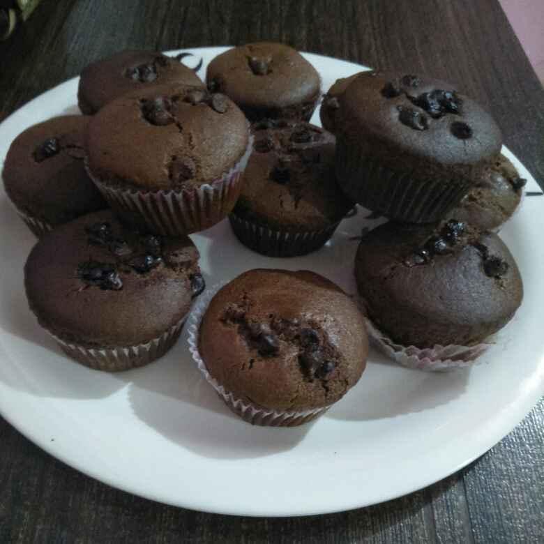 How to make चॉकलेट कप केक