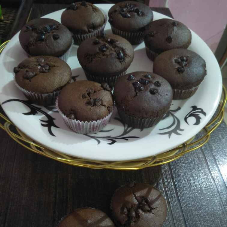 Photo of Chocolate cup cake by Pranali Deshmukh at BetterButter