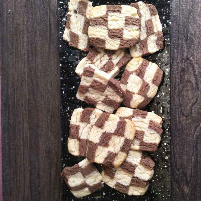 Photo of chess board cookies by Pranali Deshmukh at BetterButter