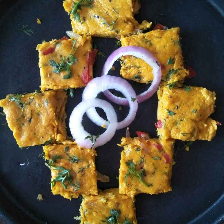 How to make बेसन वडी
