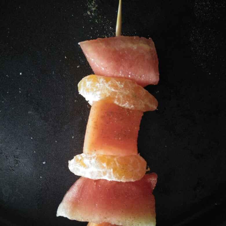 Photo of Fruit tikka by Pranali Deshmukh at BetterButter