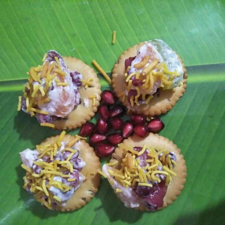 Photo of Biscute fruit chat by Pranali Deshmukh at BetterButter