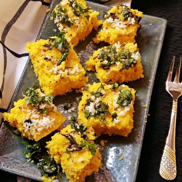 How to make Microwave Instant Dhokla