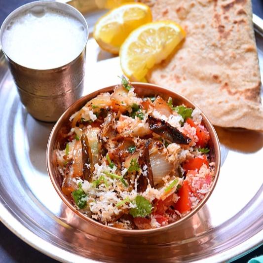 How to make Pyaaz Ka Bharta / Onion Bharta