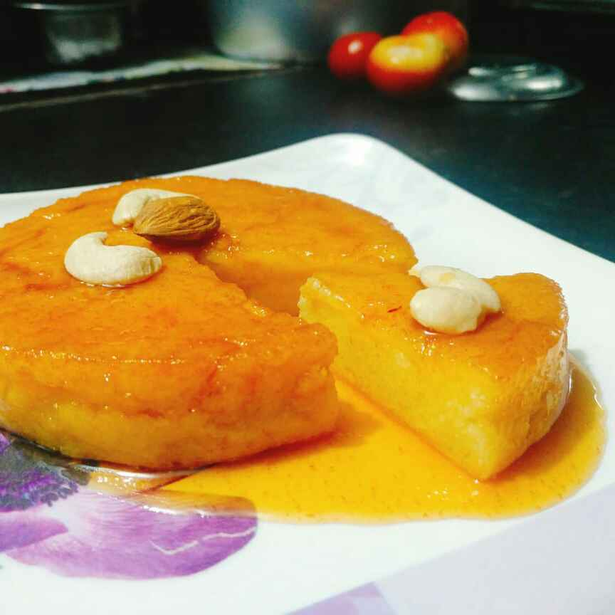 Photo of INSTANT Caramel bread pudding (In Cooker) by Prathyusha Mallikarjun at BetterButter