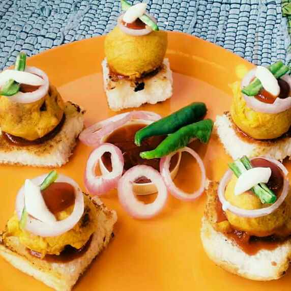 How to make Chhotu vada pav