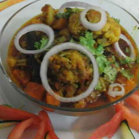 Photo of Gobhi gajar ki subzi by pratibha singh at BetterButter