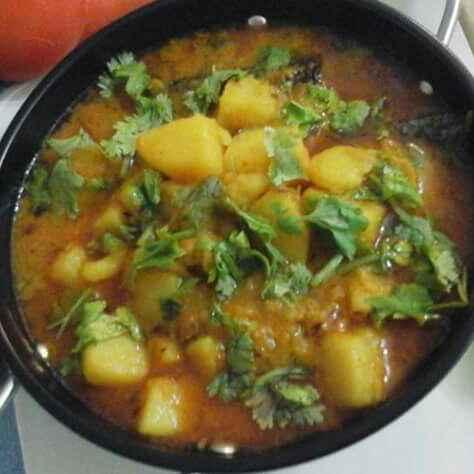 Photo of Potato curry without onion,tomato nd garlic by pratibha singh at BetterButter