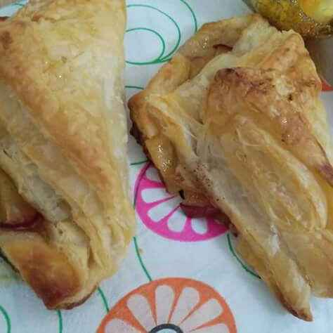 Photo of Apple puff pastry by pratibha singh at BetterButter