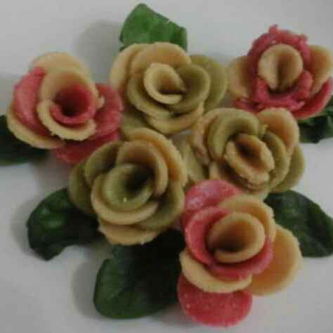 Photo of Kaju rose flower by pratibha singh at BetterButter