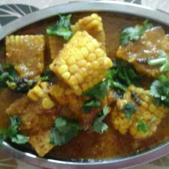 Photo of Makki ki sabji by pratibha singh at BetterButter
