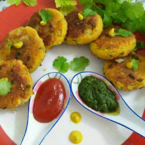How to make Mungdal oats tikki