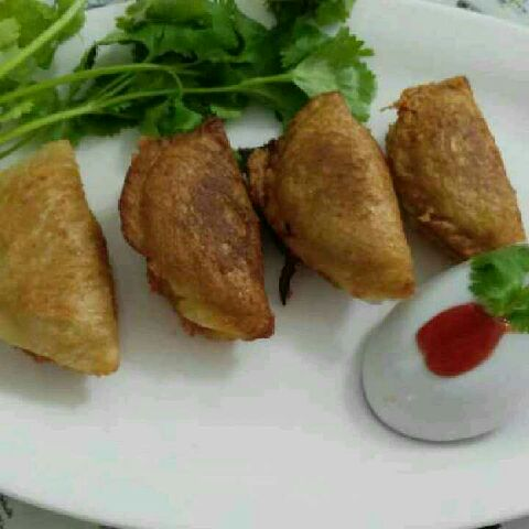 How to make Chij krispi bred gujhiya