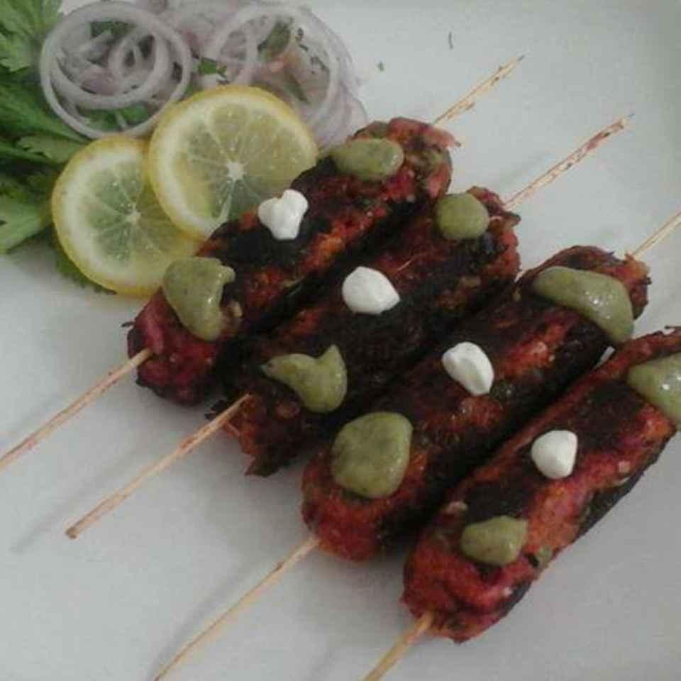 How to make Mix veg seek kabab