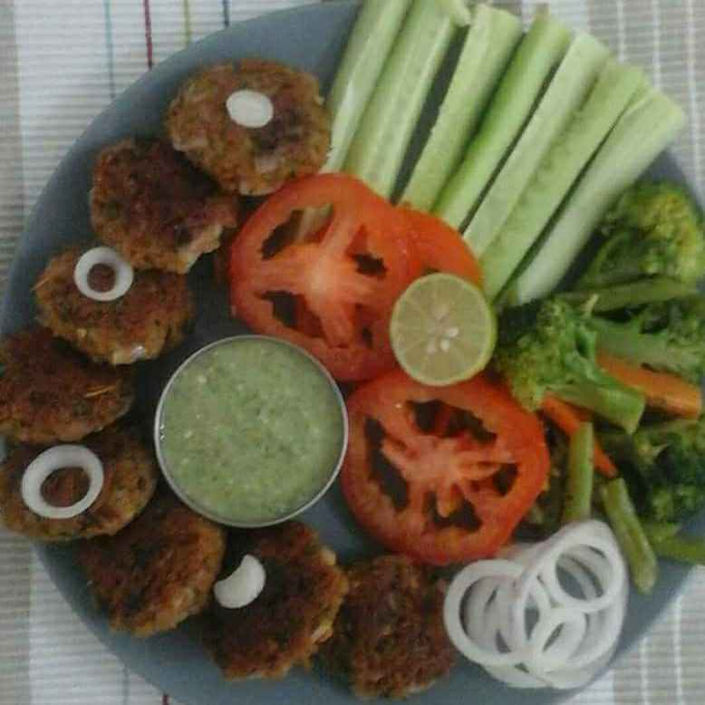 How to make Soya kabab