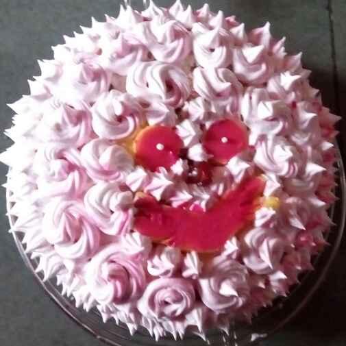 Photo of Smiley Pineapple Cake by Pratiksha Bhegade at BetterButter