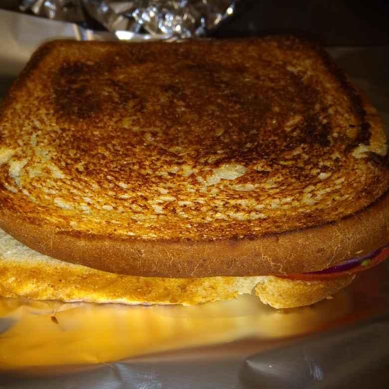 How to make Veg cheese sandwich