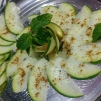 How to make Raw mango salad