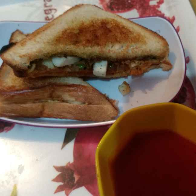 Photo of Paneer sandwich by Pratima Pradeep at BetterButter