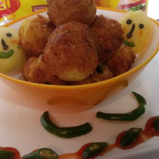 How to make Maggi potato cutlet
