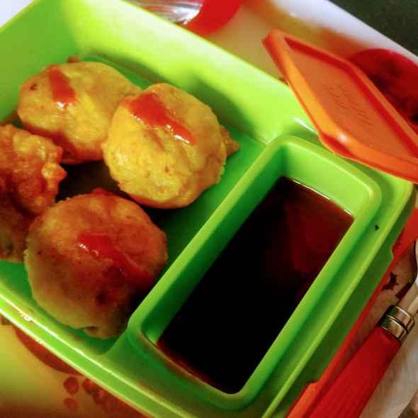 How to make Potato tikki pakora