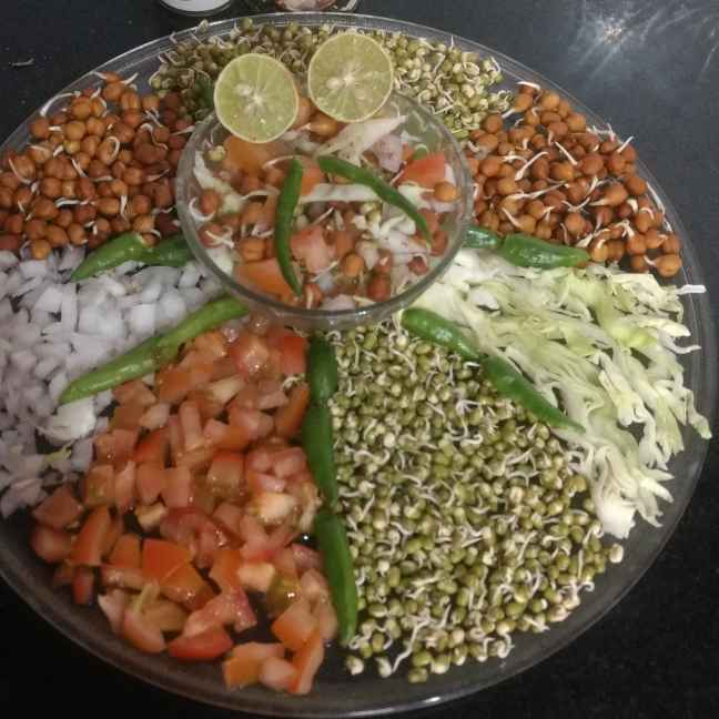 Photo of Sprouts salad (diabetics salad) by Pratima Pradeep at BetterButter