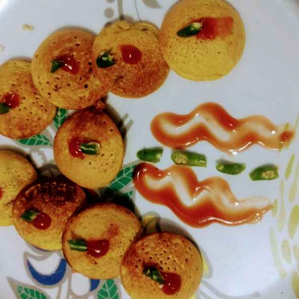 How to make Besan appe