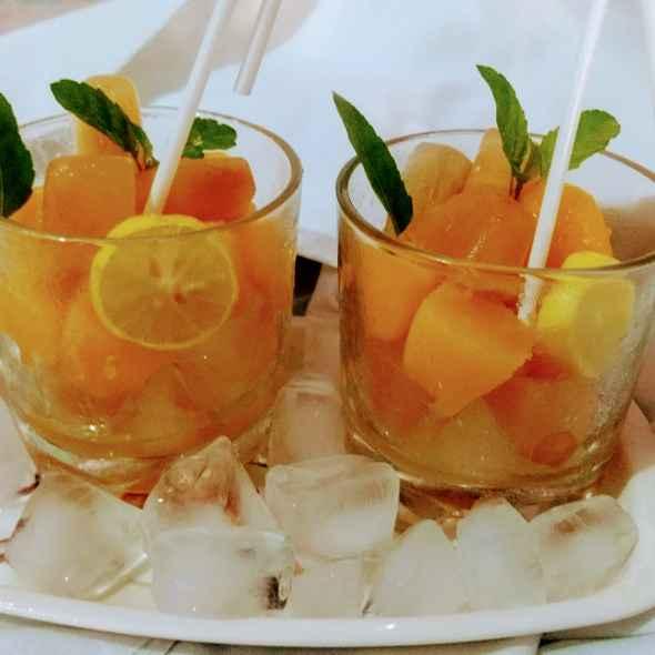 Photo of Frozen mango ice tea by Pratima Pradeep at BetterButter