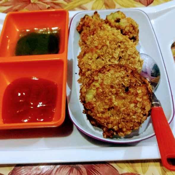 Photo of Baingun potato layered pakora by Pratima Pradeep at BetterButter
