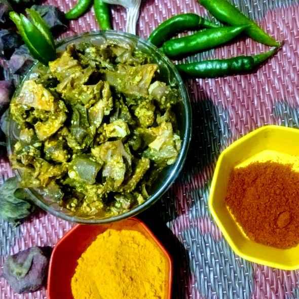 Photo of Singhade ke chilke ka achar by Pratima Pradeep at BetterButter