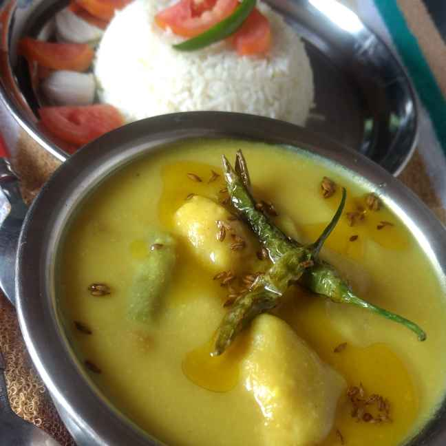 Photo of Kadhi pakore wali by Pratima Pradeep at BetterButter