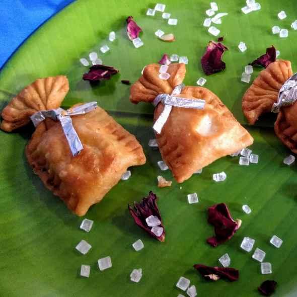 Photo of Coconut mawa bori gujiya by Pratima Pradeep at BetterButter